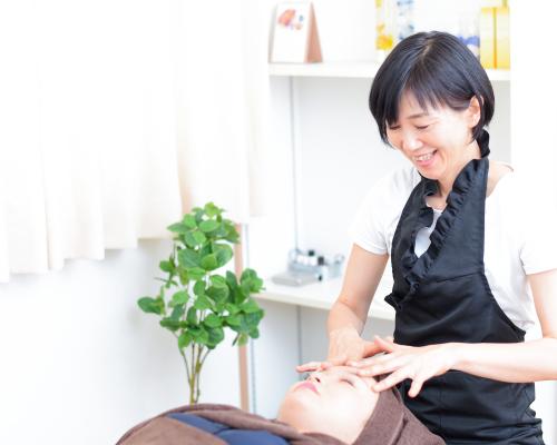 愛知県半田市の小顔矯正サロンブルーム・小顔矯正・施術の流れ